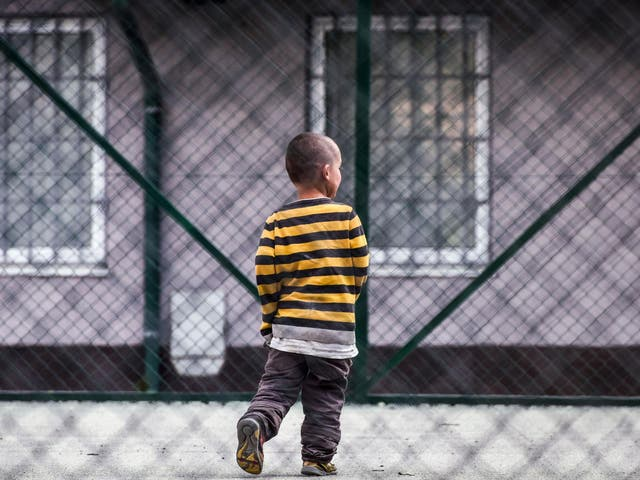 Young Kosovar child returned from Syria in foreign detention centre in Vranidoll, Kosovo