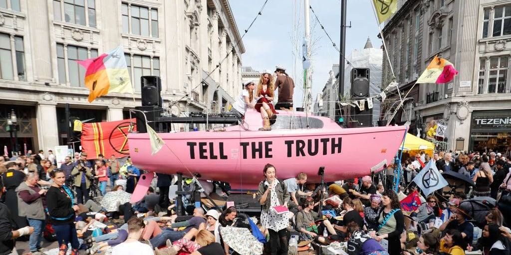 London air quality better since Extinction Rebellion climate change protests began