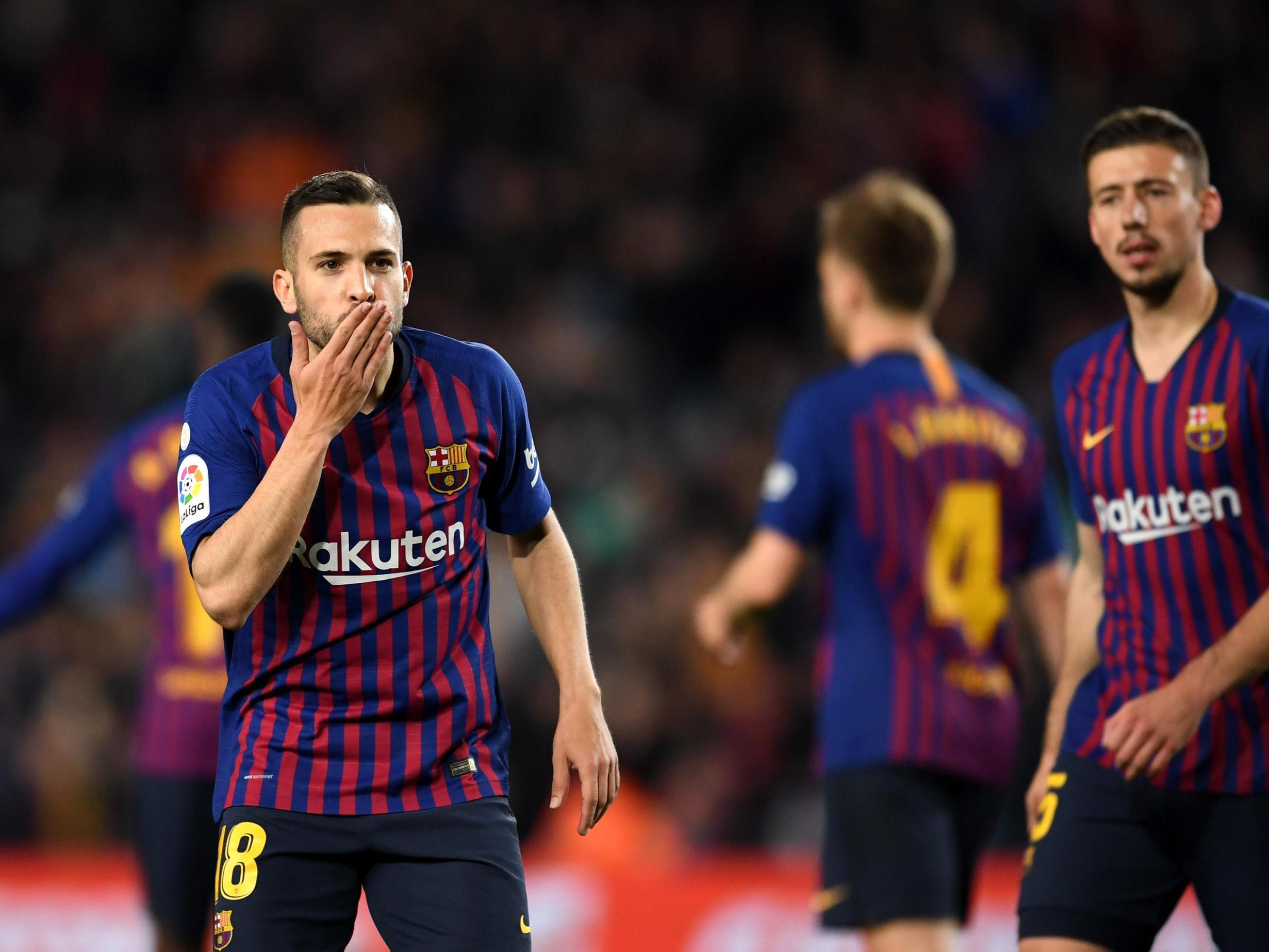 Barcelona two wins from La Liga title after victory over Real Sociedad