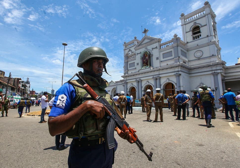 Image result for Sri Lanka attacks