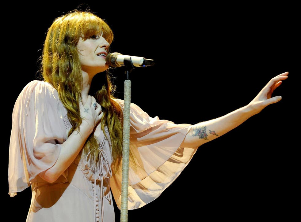 Florence + The Machine was one of the headliners scheduled to perform