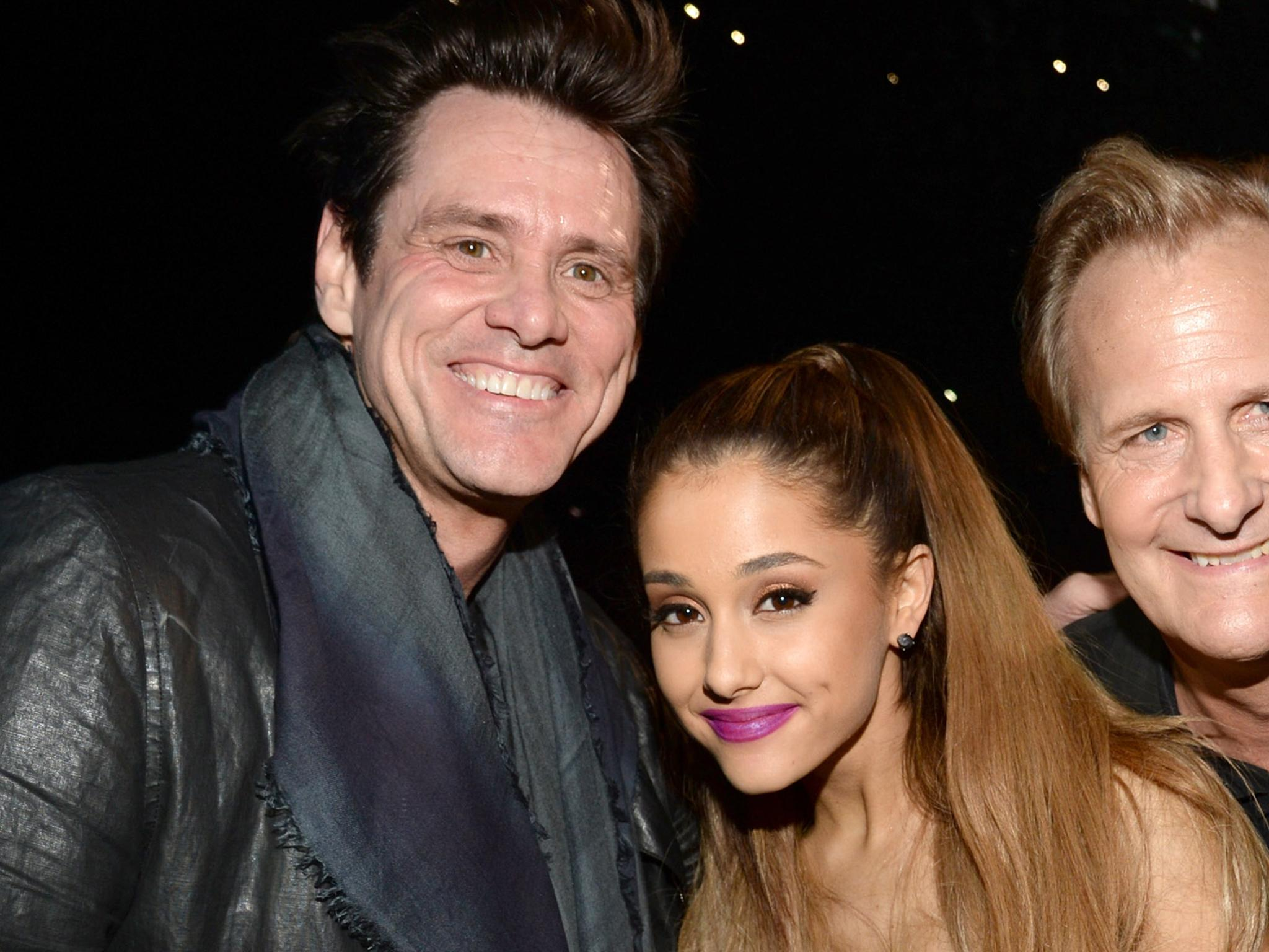 Jim Carrey sends message to Ariana Grande after singer posts his quote on depression
