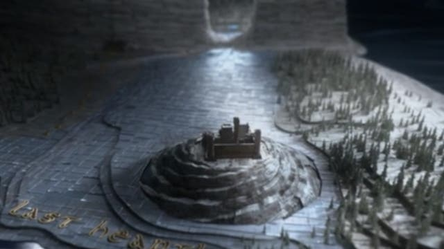 It seems the show's opening credits will be updated each week to mark the progress of the Night King's army. This week saw the tiles over last Heart flip to ice, referencing the season eight premiere scene that saw the settlement's leader, Lord Ned Umber, meet his end.