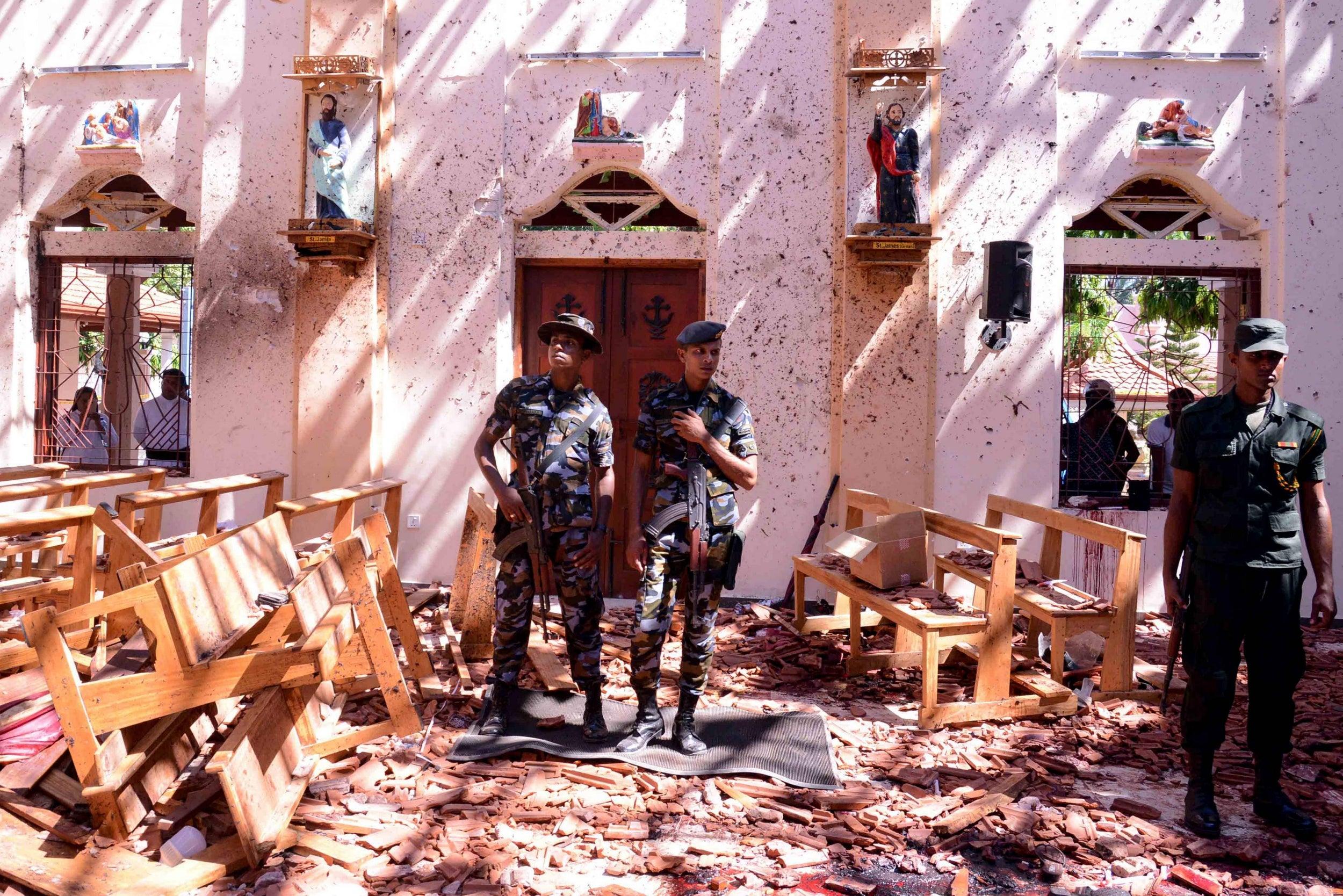 Sri Lanka blast news - LIVE: Bomb attacks leave at least 200