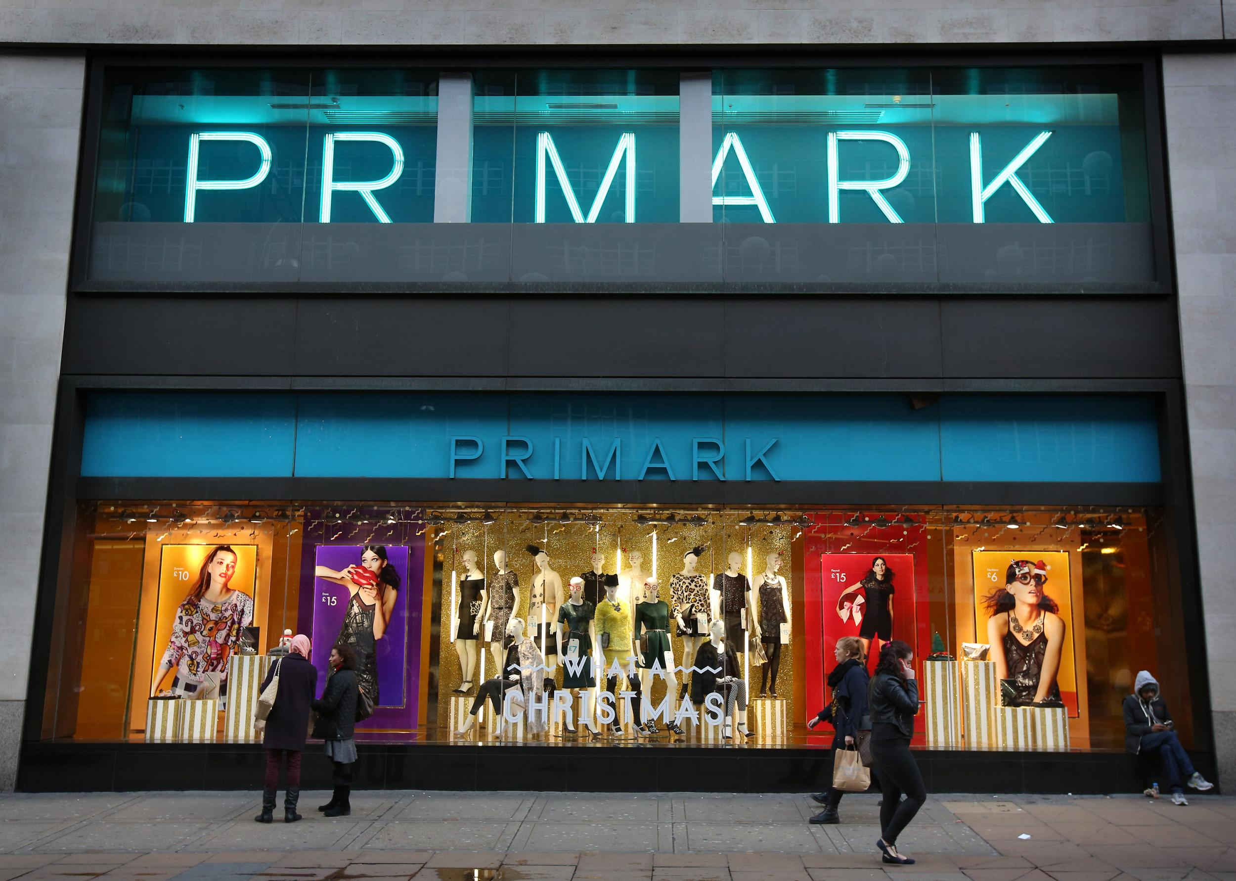 Primark not set to trial online shopping