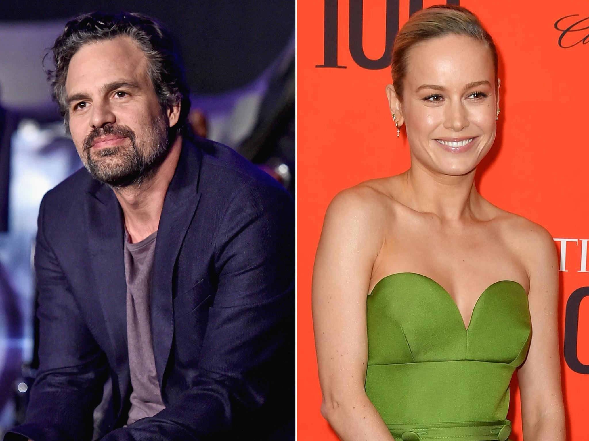 Mark Ruffalo discovers he'd already starred in a film with Brie Larson before Avengers