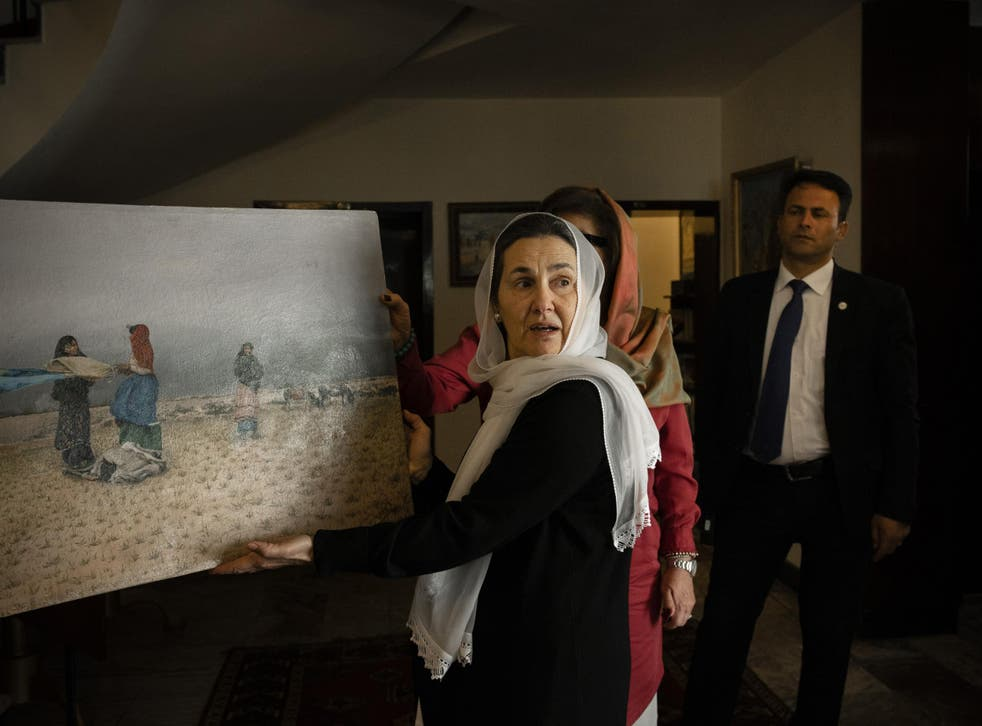 Ghani has become a focal voice for women's rights