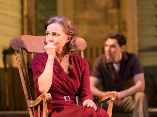 Sally Field and Colin Morgan in 'All My Sons'