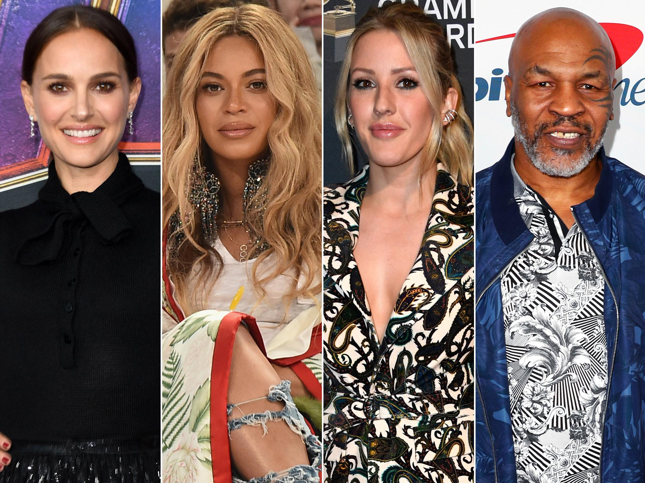 Celebrity vegans: Beyoncé and Natalie Portman among famous faces following plant-based diet 1