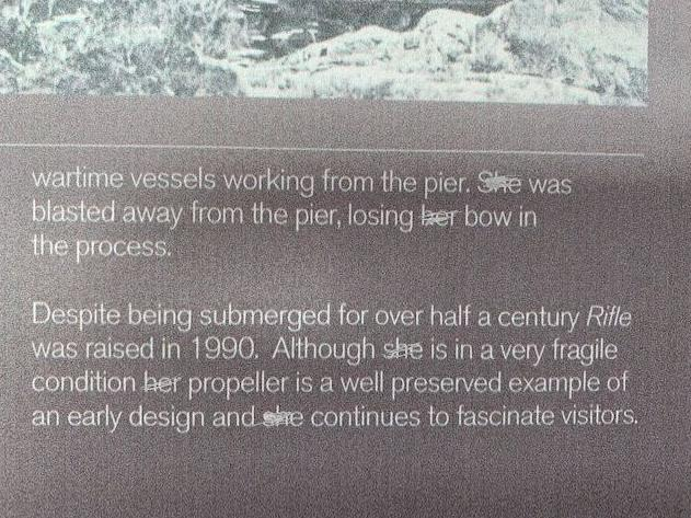 QnA VBage Museum stopped calling ships 'she' and 'her' to recognise changes in society, not in response to vandalism, director says