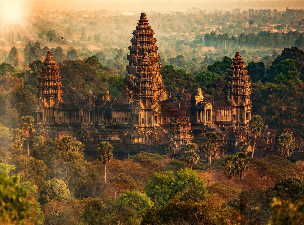 Angkor Wat is one of Unesco's most famous landmarks