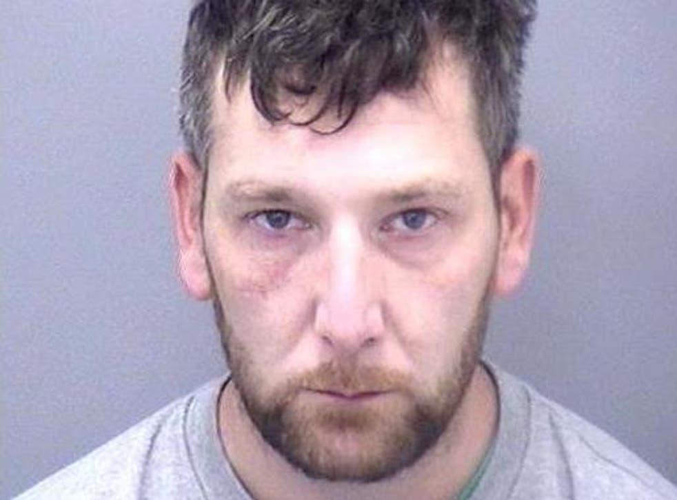 Police custody image of Lee Hogben