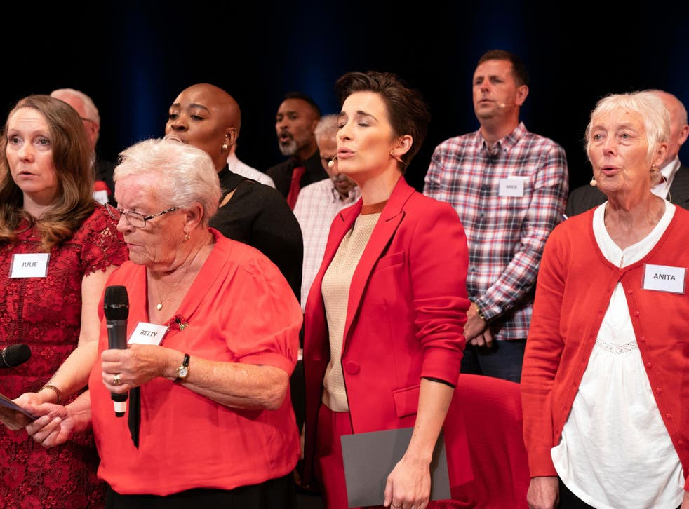 'Our Dementia Choir with Vicky McClure': moving and very welcome