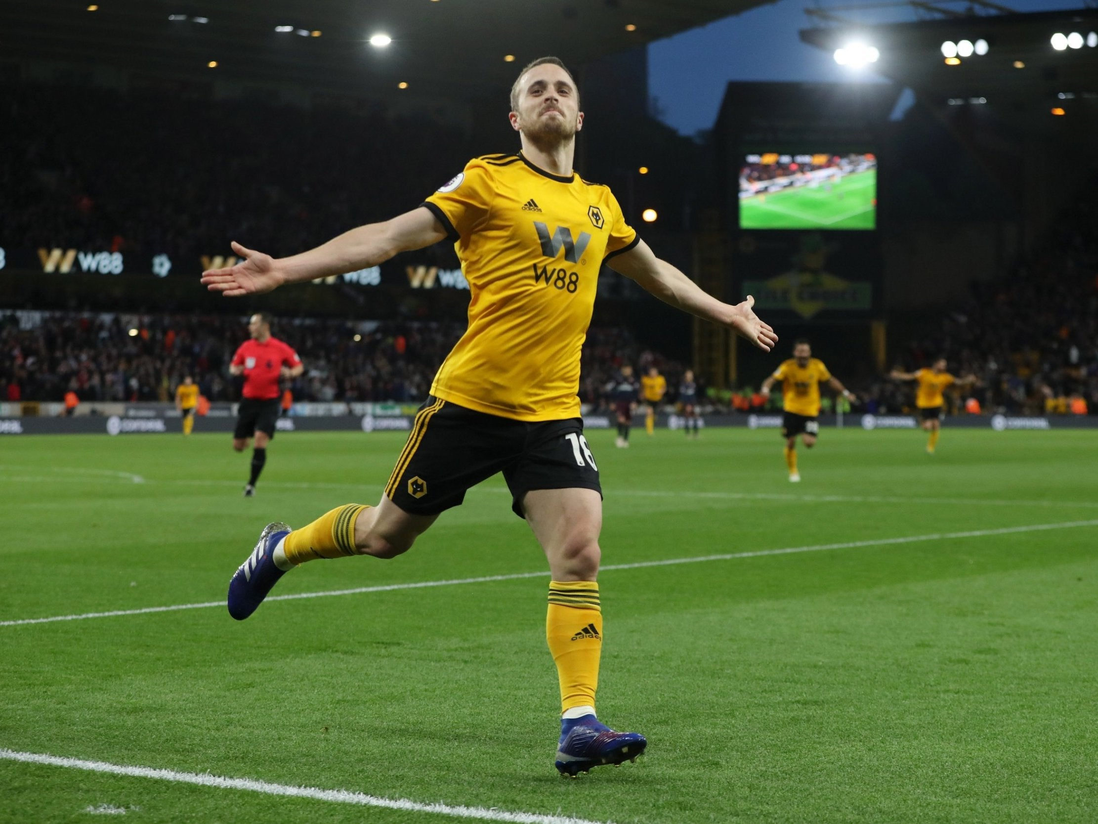 Diogo Jota aiming to learn from Portugal teammate Cristiano Ronaldo as Wolves look to build on last season