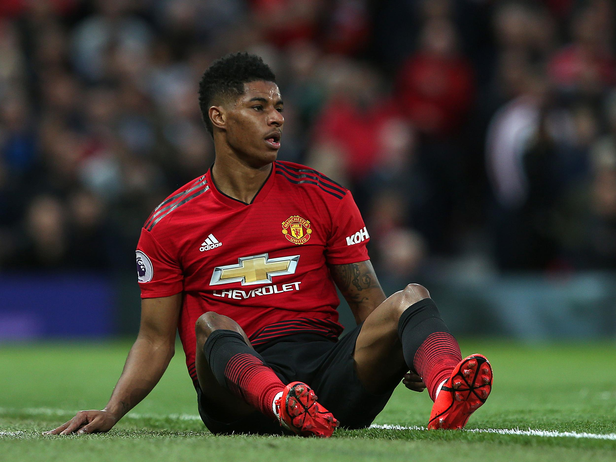 Manchester United vs Manchester City: Marcus Rashford critical of derby display: 'It's not right'