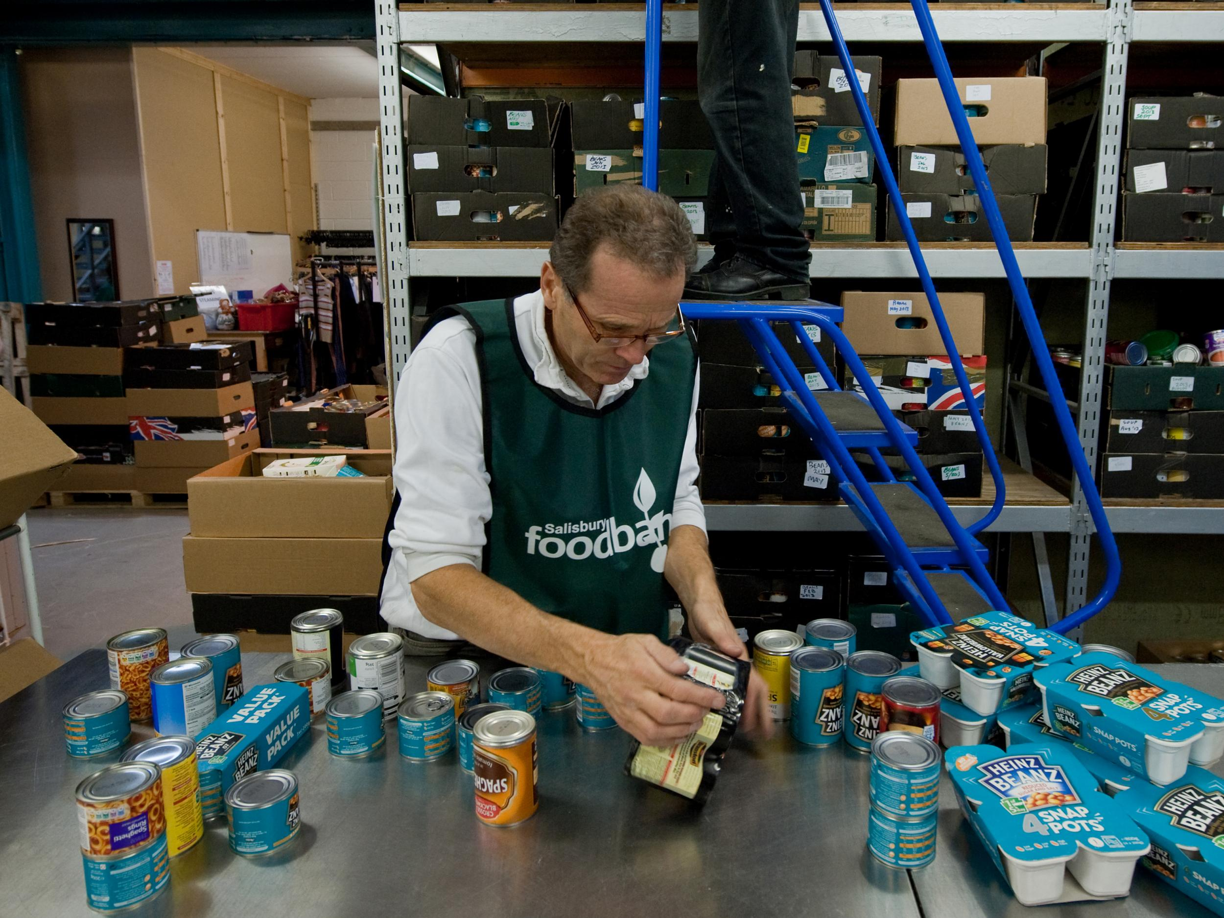 Tory ignorance of food banks exposed in figures blunder, Labour says