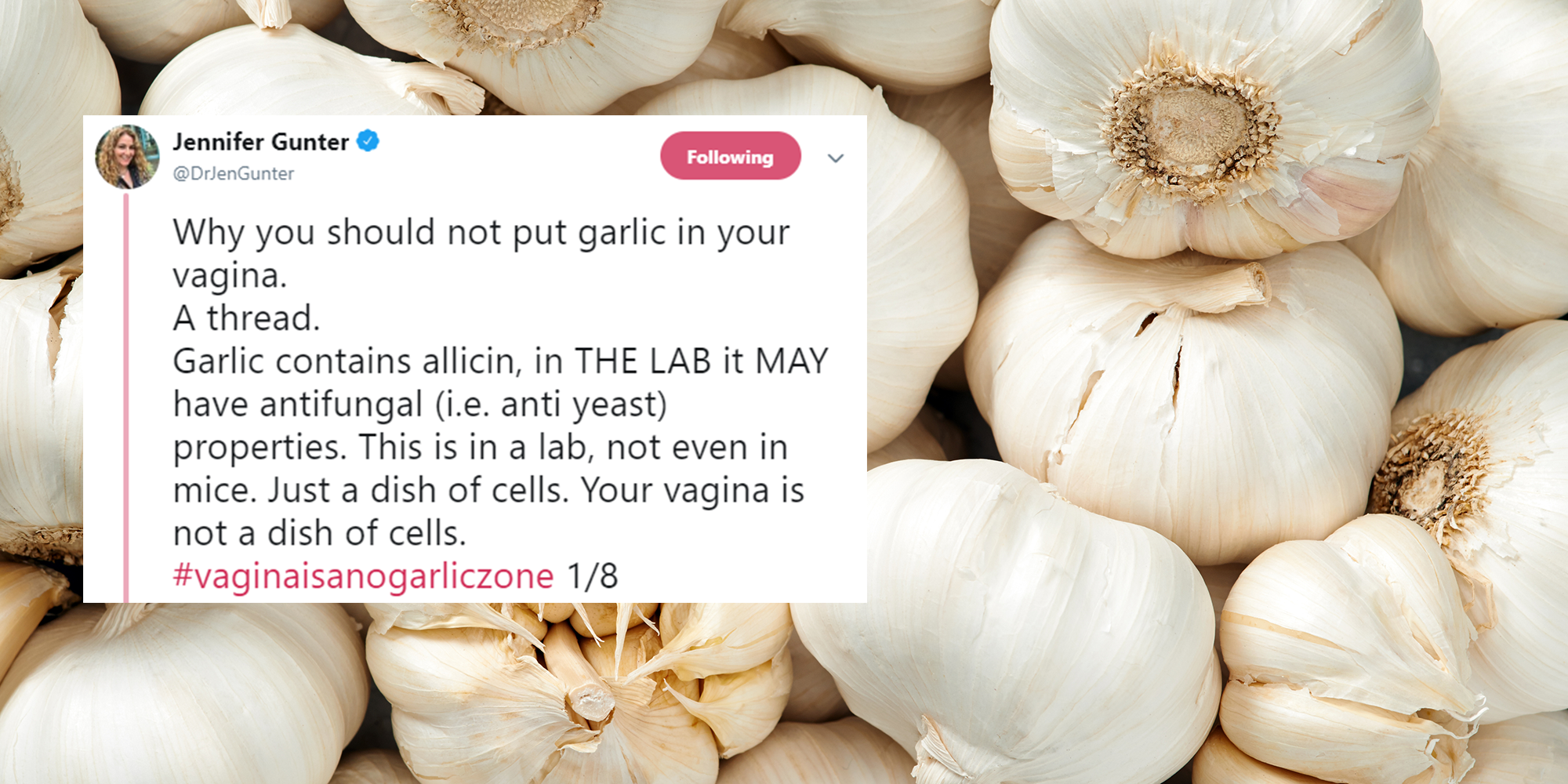 Put A Clove Of Garlic In Your Vagina And Other Strange Health Advice People Have Given Us