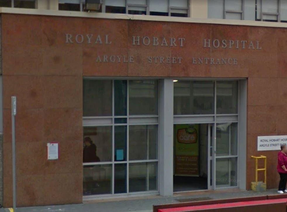 Royal Hobart Hospital, in Tasmania.