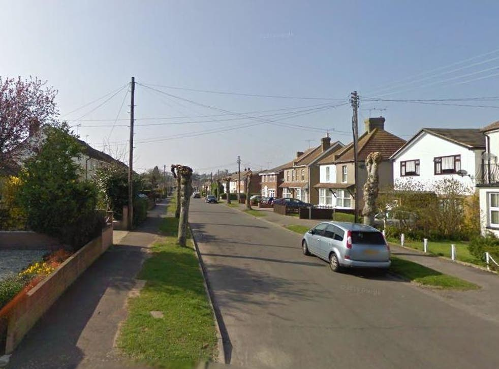 Neighbours said the victim was stabbed on his doorstep in Church Road, Rayleigh