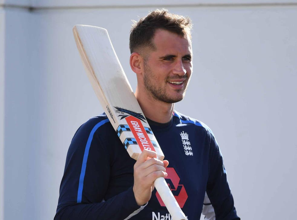 Alex Hales is serving a 21-day ban after failing a second drugs test
