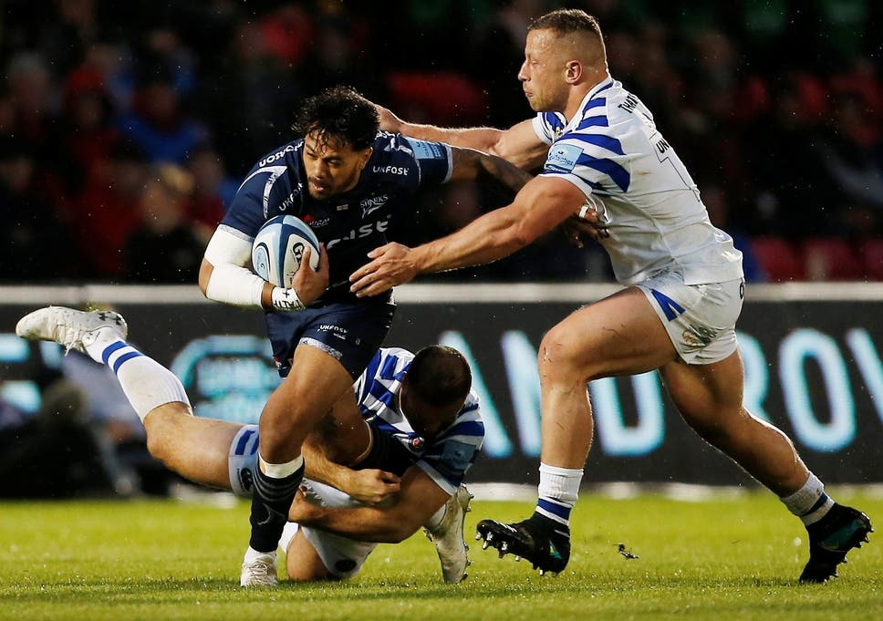 0c46a8f4dcf Sale boost Gallagher Premiership top-four hopes with gritty win over Bath