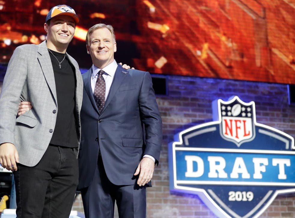Drew Lock was picked by the Denver Broncos in the second round