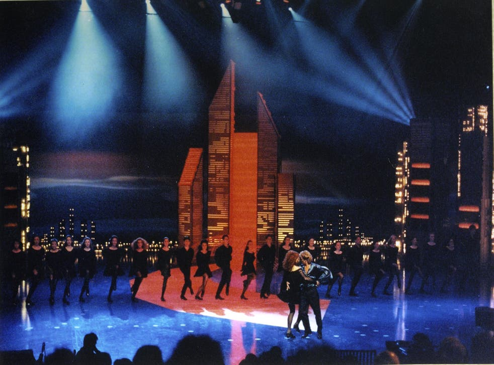 The original performance of Riverdance during the 1994 Eurovision Song Contest in Dublin