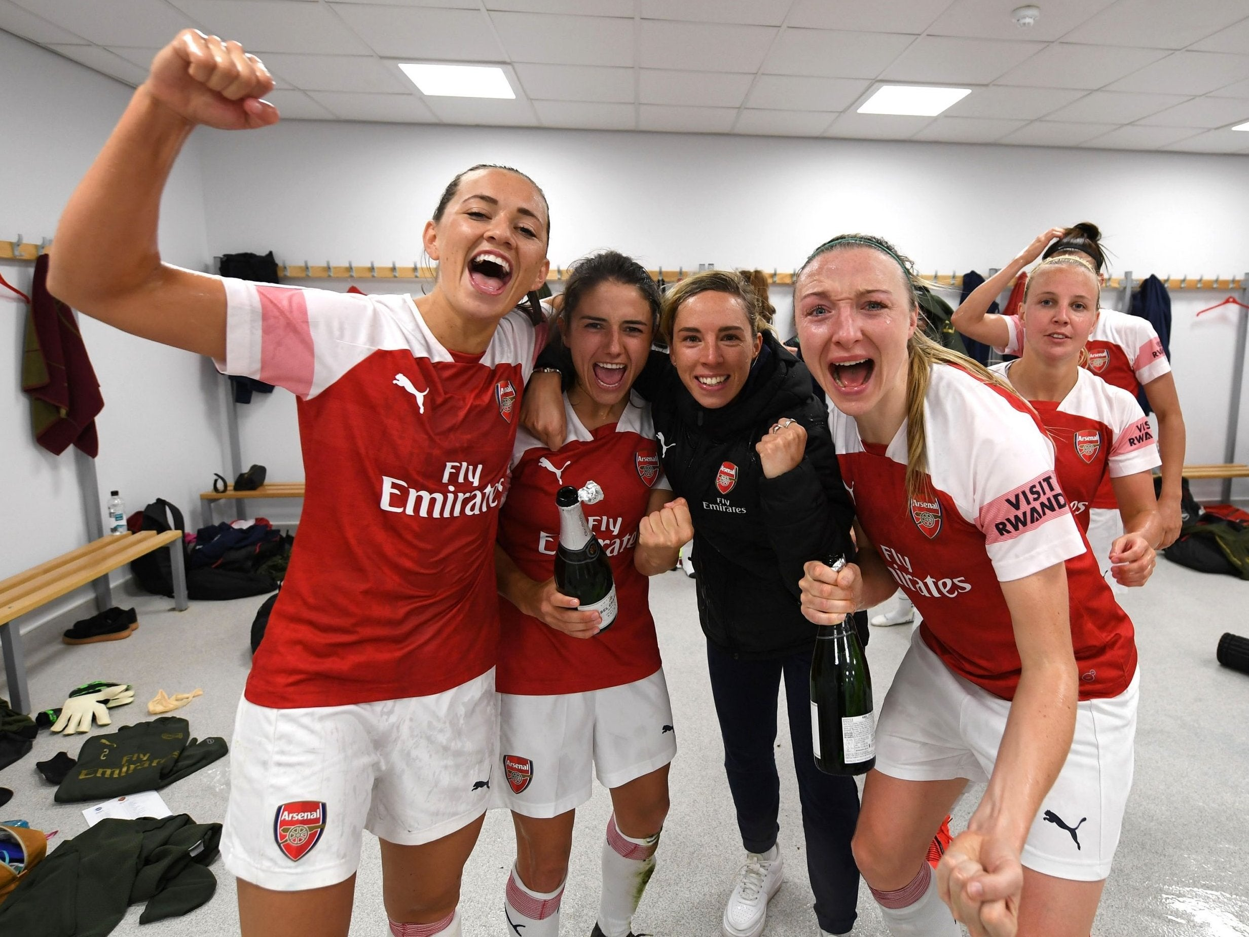 Women S Super League Arsenal Crowned Wsl Champions After