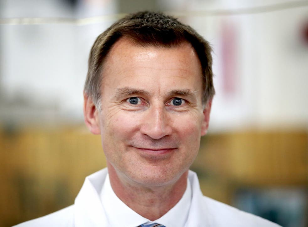 Jeremy Hunt said he would be 'happy for anyone to look at his phone', after the National Security Council leak.