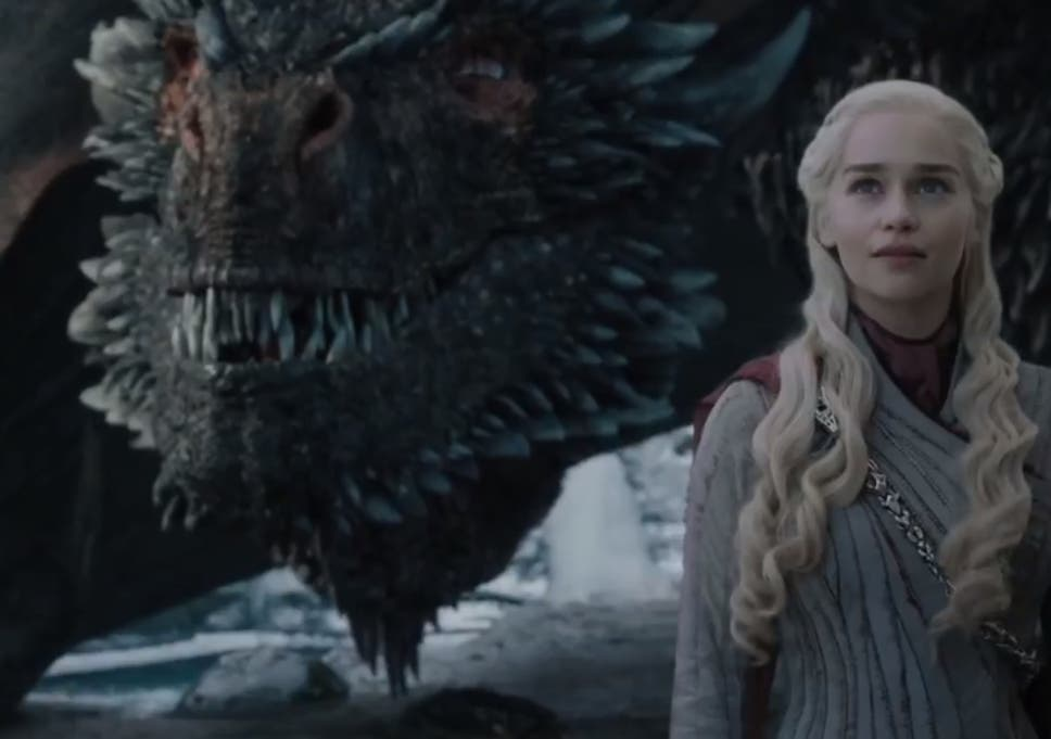 d2f4228195a Daenerys (Emilia Clarke) with Drogon: a face only a mother of dragons could