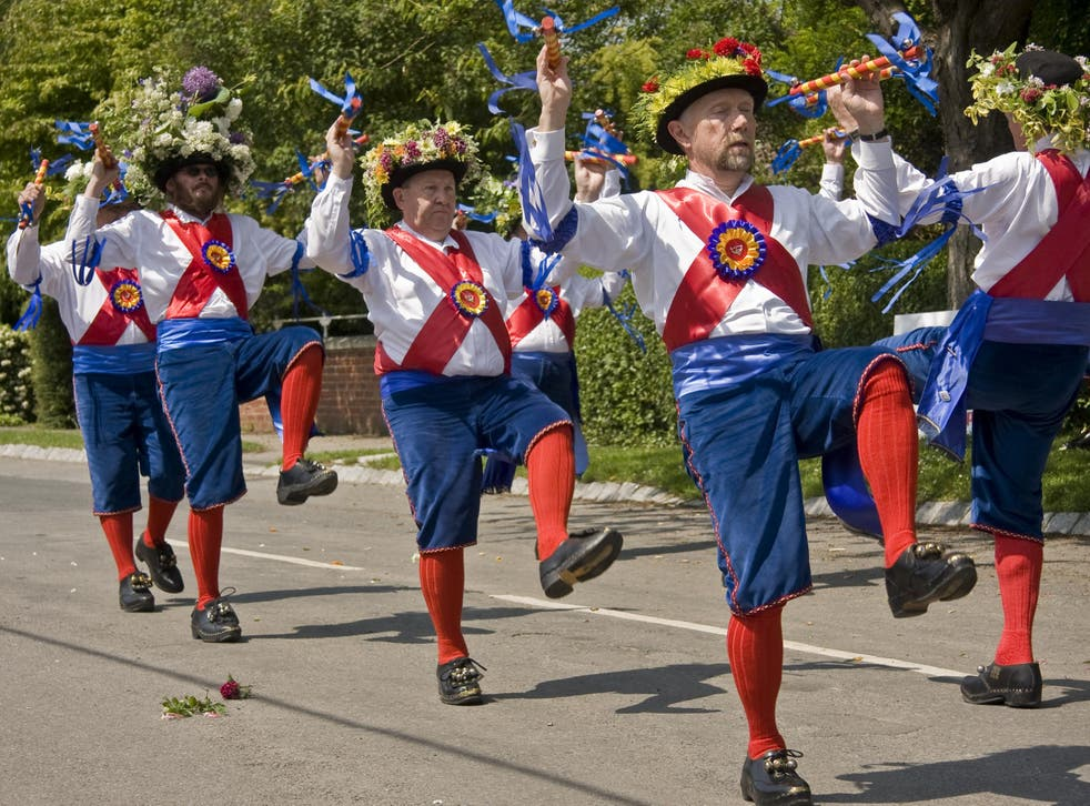 Perhaps with morris dancing it's best not to think too much about why