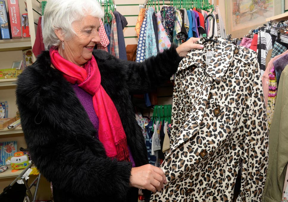 3801166a Designer clothes worth £50,000 dropped off at charity shop by mystery  donor. '