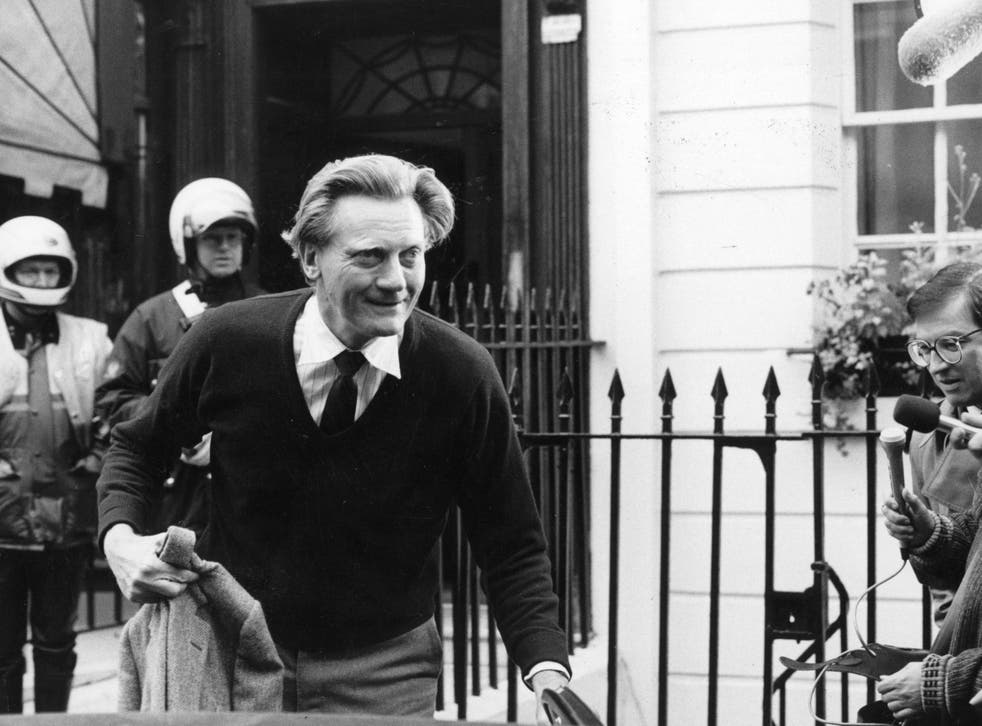 Michael Heseltine quit the cabinet over the Westland helicopter bid in 1986