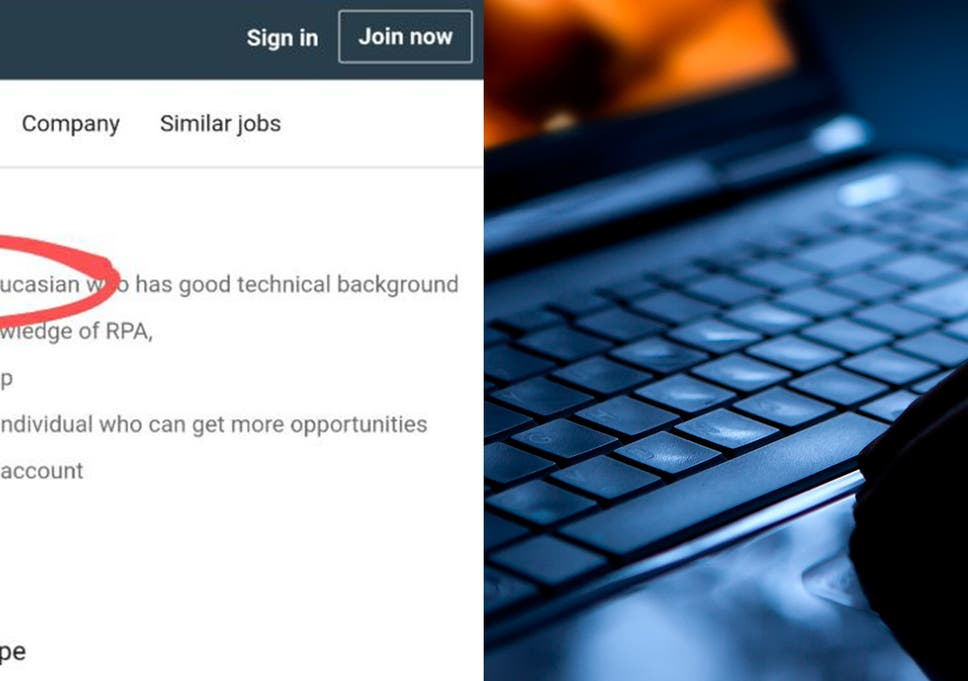 Tech company apologises for LinkedIn job advert asking for