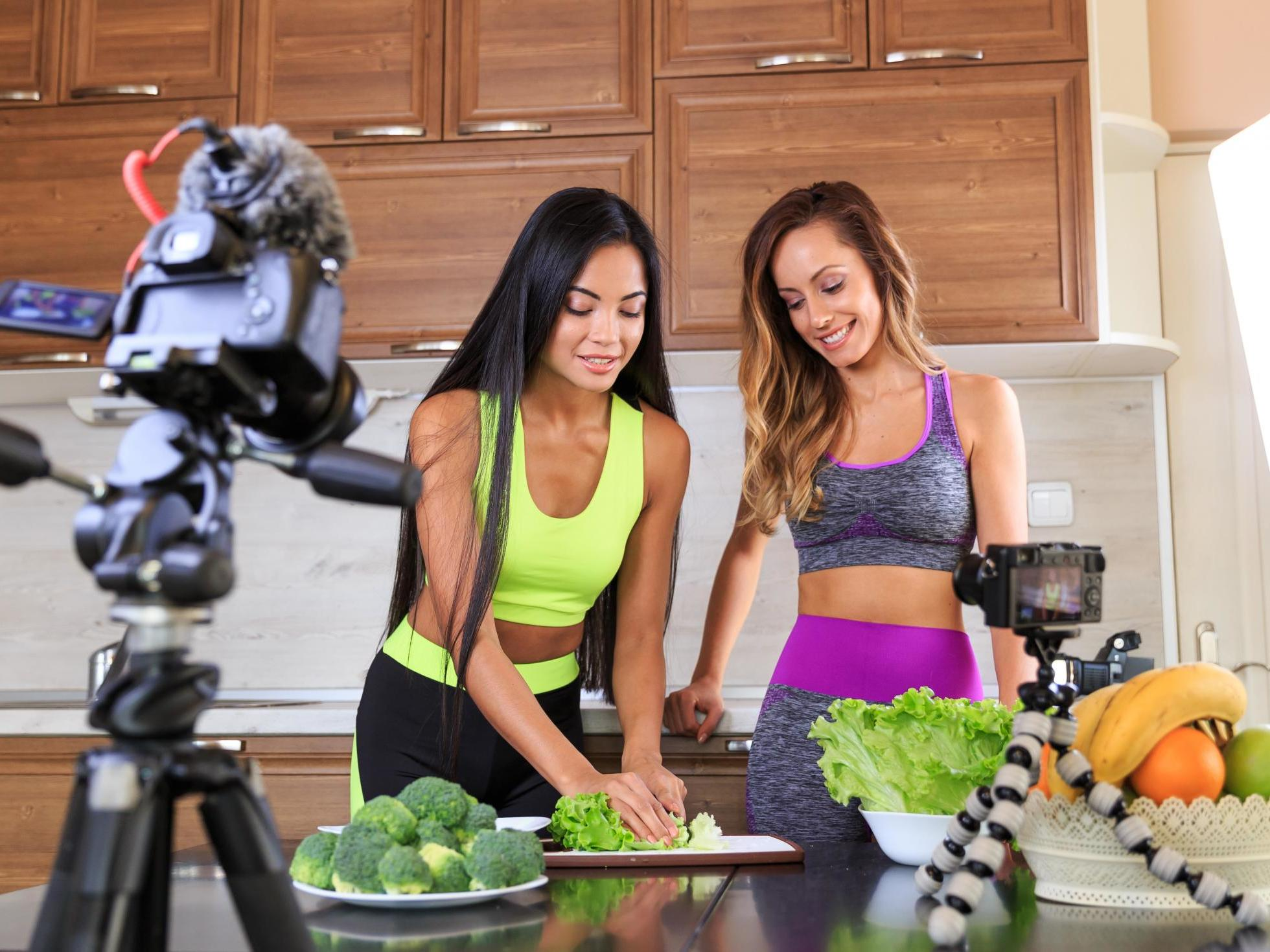 Social media influencers give bad diet and fitness advice
