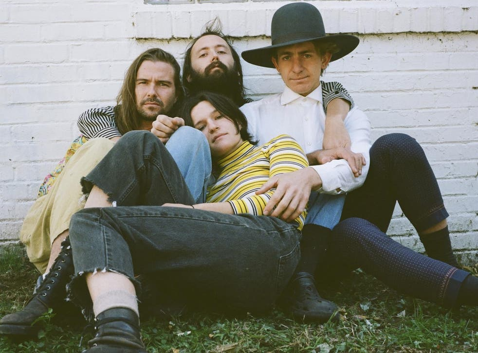 Big Thief's Adrianne Lenker, centre front: 'I'm sure I'm still feeling things that have been passed down from my great-great-grandmother. And with each generation, it seems that there's a little bit more work done to open that part back up'