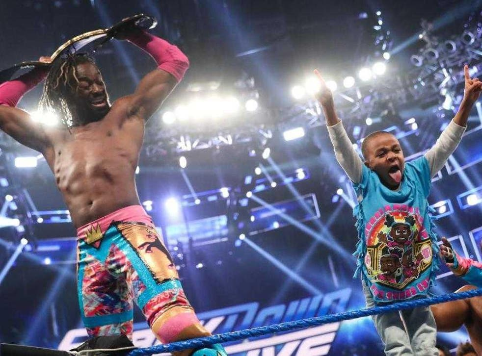 WWE champion Kofi Kingston hopes to inspire young people like him to dismiss worries of racism and discrimination