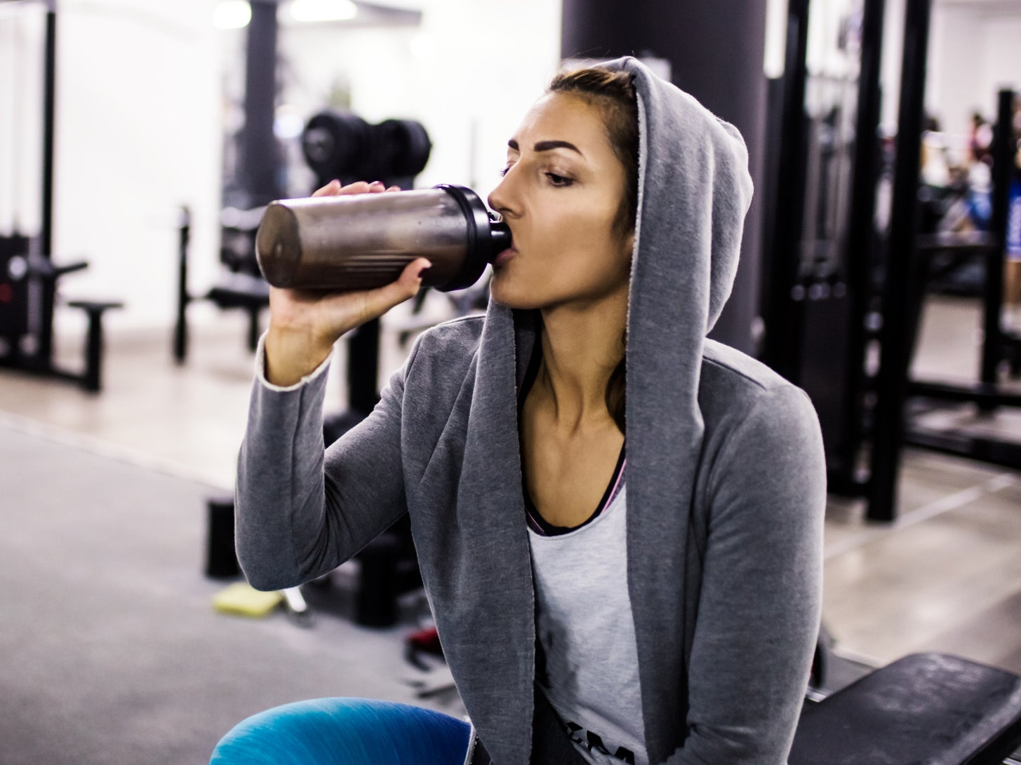 Drinking too many protein shakes could reduce lifespan, scientists claim 1