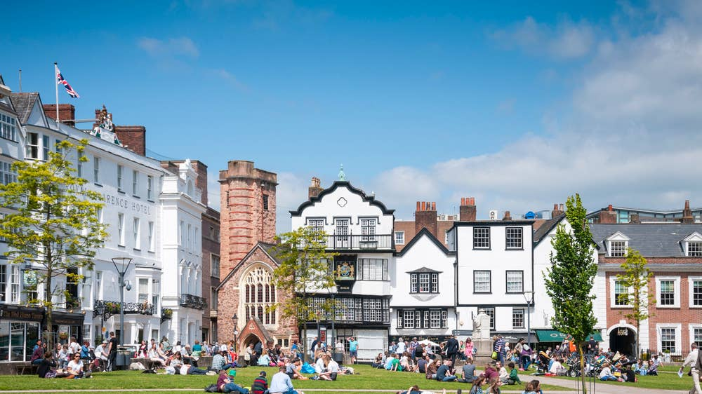 5d049c13e6 Exeter guide: Where to eat, drink, shop and stay in Devon's coastal ...