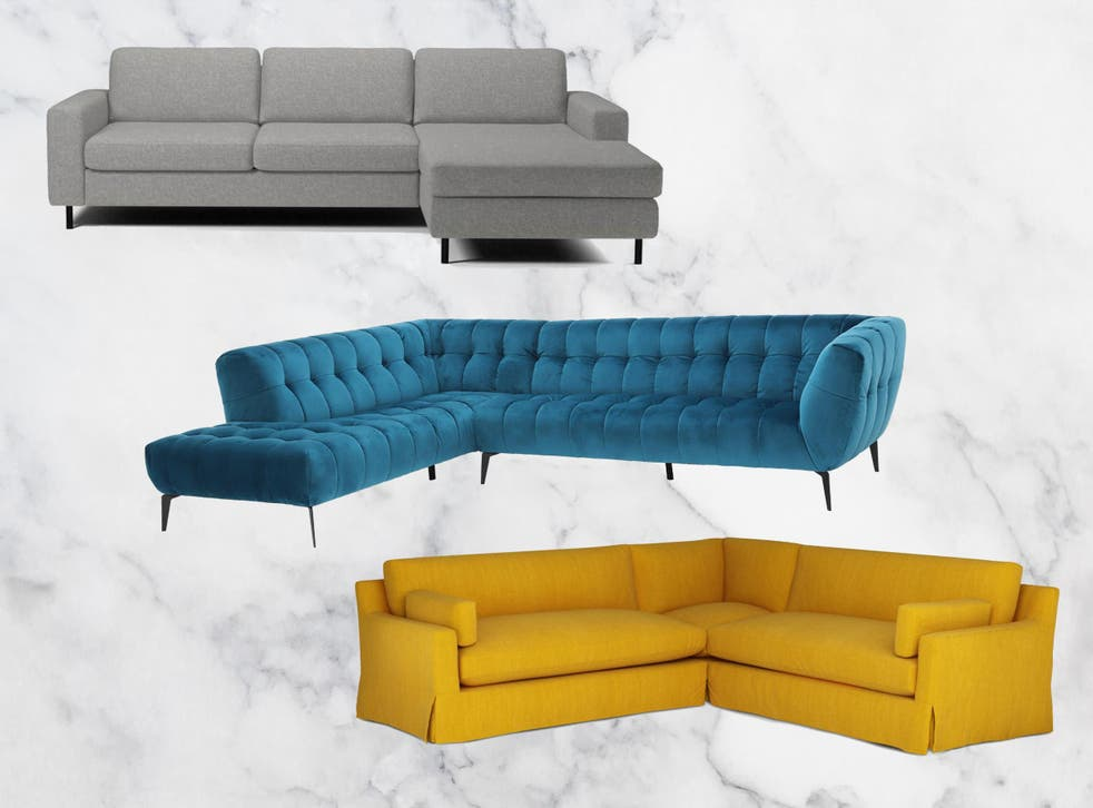 If you have a smaller home, a two or three-seater chaise-end sofa might give you the desired extra leg-room while remaining fairly compact