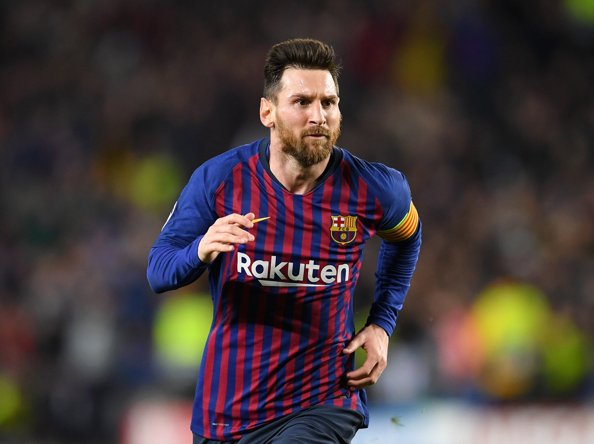 f4c4403aa67 Lionel Messi free-kick  Watch video of Barcelona captain s sublime second  goal against Liverpool
