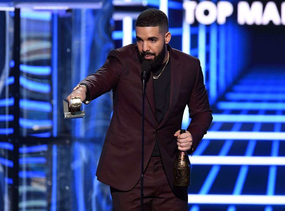 Drake at the Billboard Music Awards