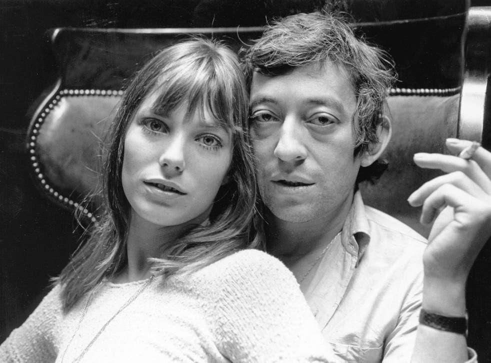 Music lovers: Jane Birkin and Serge Gainsbourg in Paris, 1969