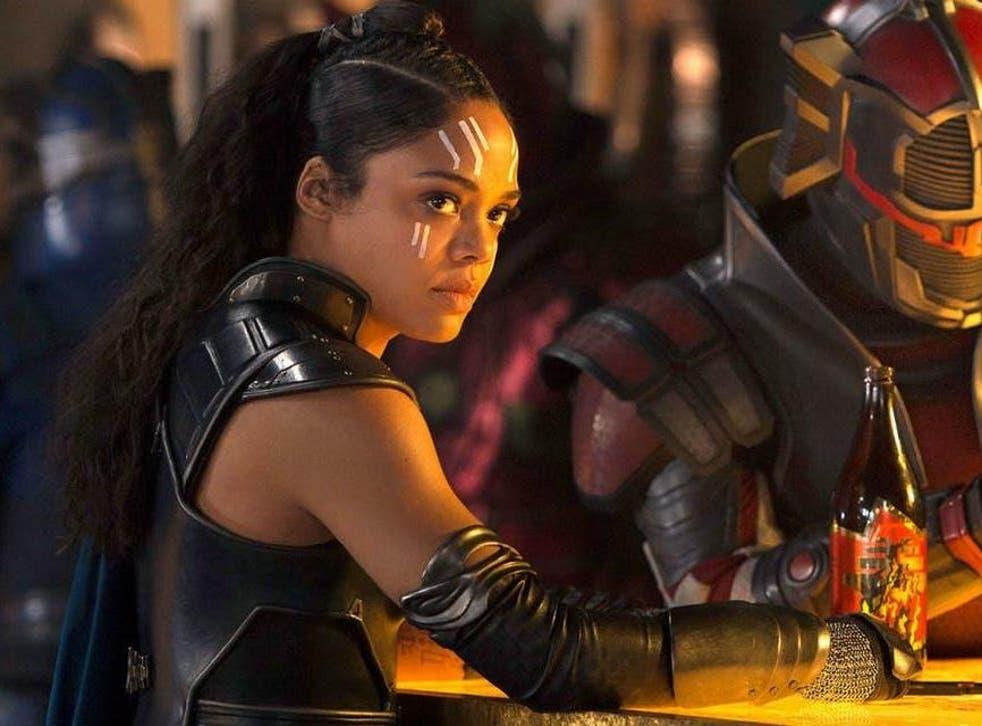 Tessa Thompson returns as Marvel character Valkyrie in 'Avengers: Endgame'