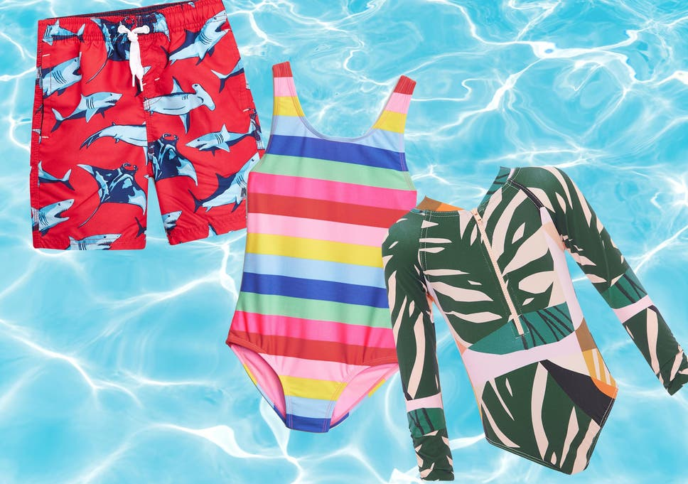 25877bc8ab6 Make a splash with our top picks of fun but practical swimwear for your  little one