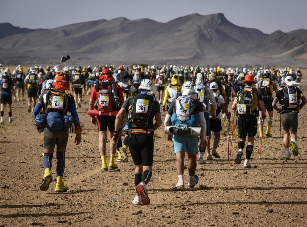 This year's racers take on the Marathon des Sables – a fierce challenge in inhospitable conditions