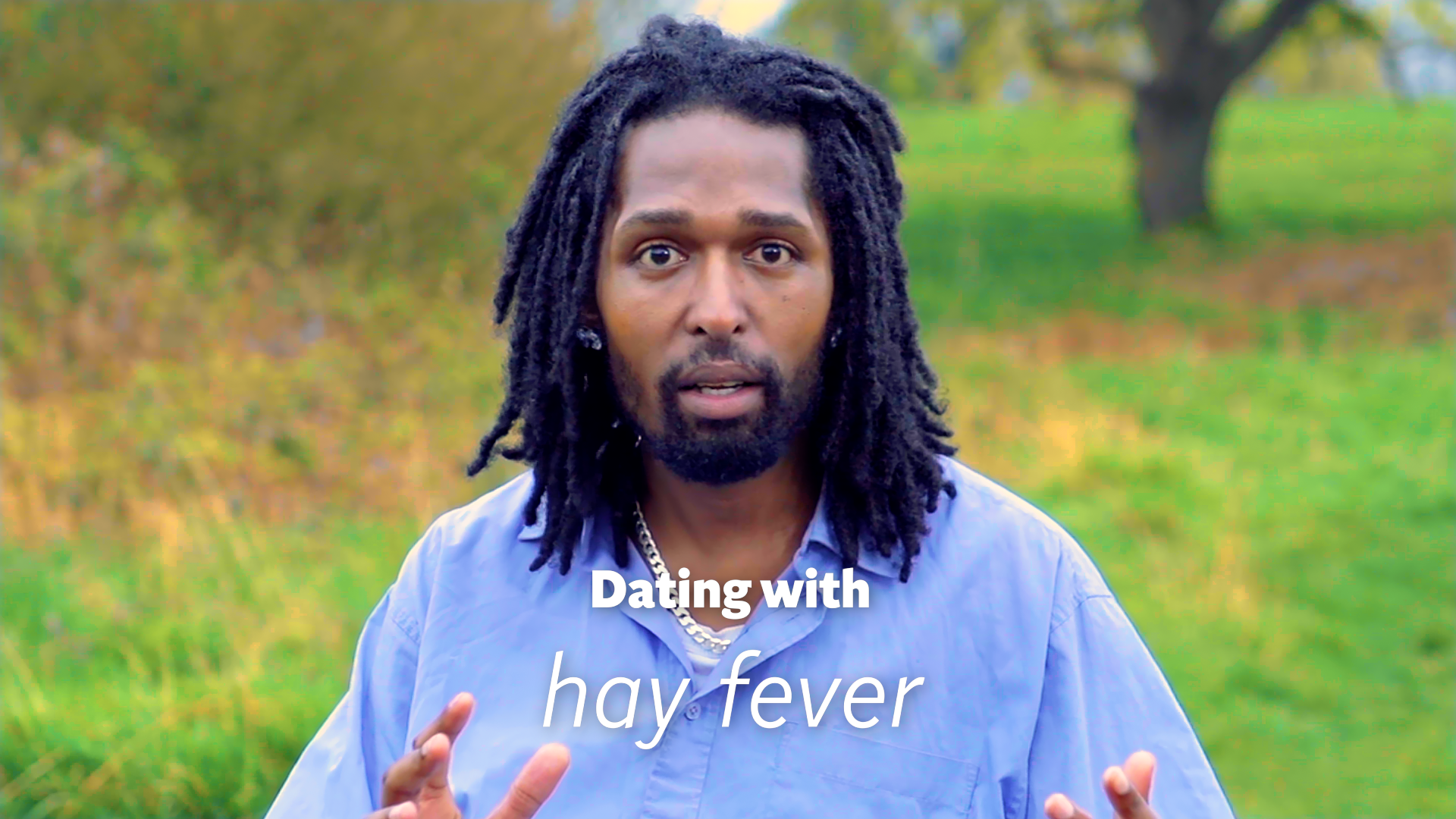 Hay fever dating disasters: From streaming eyes to badly-timed sneezes