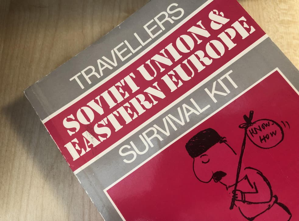 Past tense: the 'Traveller's Survival Kit: Soviet Union & Eastern Europe' explained in exhaustive detail how to cross between East and West Berlin