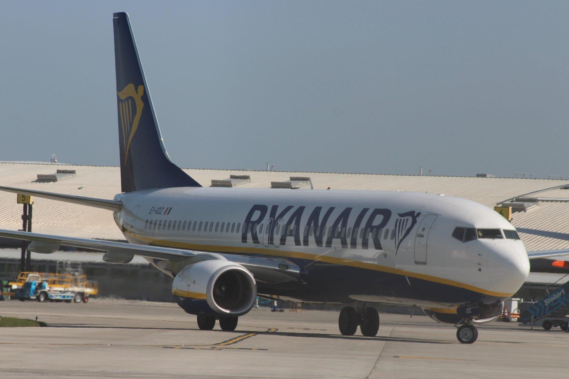 Ryanair profits fall by almost 30 per cent