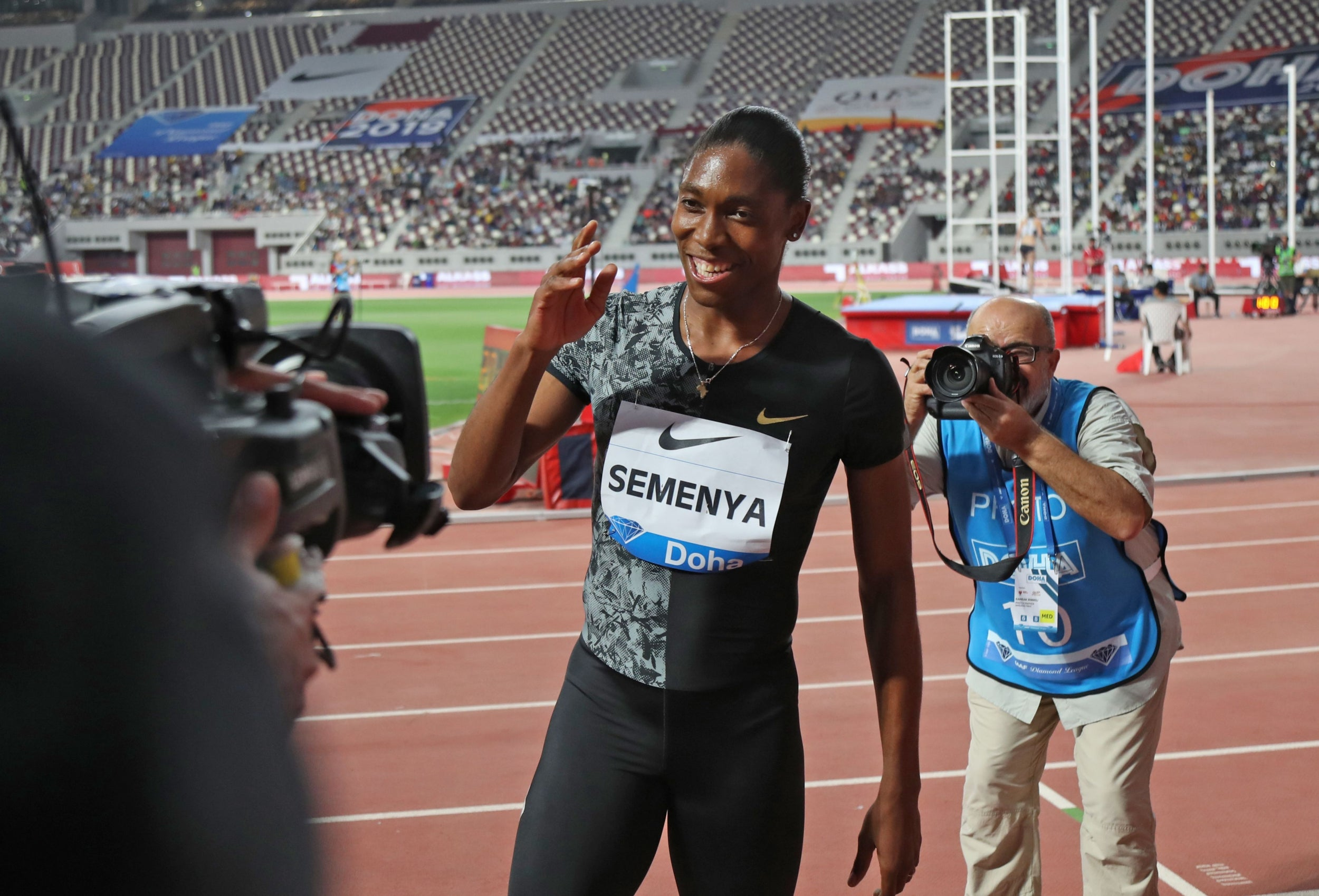 Caster Semenya to race in 3,000m at Diamond League Prefontaine Classic without lowering testosterone levels